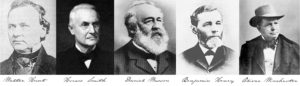 "The ""founding fathers"" of the Winchester repeater"