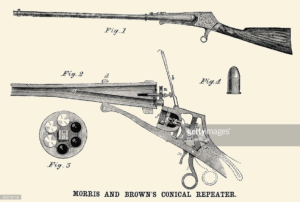 Morris & Brown Conical Repeating Rifle