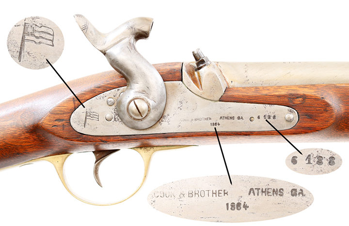 Cook & Brother Rifle