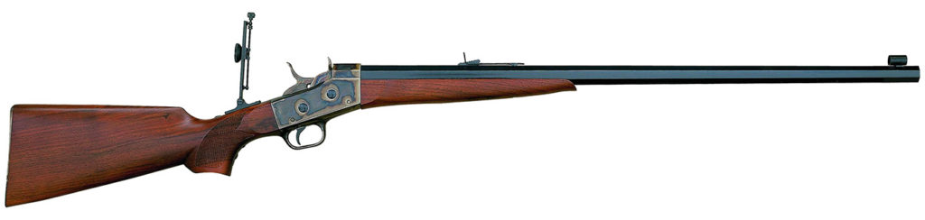 "Remington ""Creedmoor"" Rolling Block Rifle, Pedersoli Reproduction."