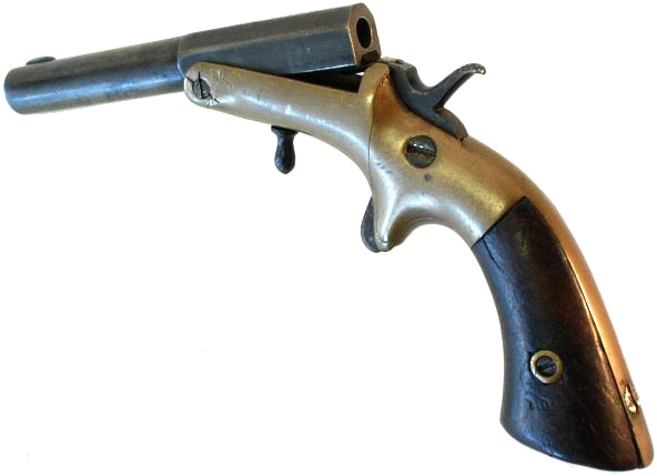 Frank Wesson Model 1849 Tip-Up Pistol