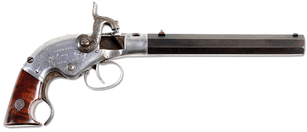 W.W. Marston Single-Shot Breech-Loading Pistol
