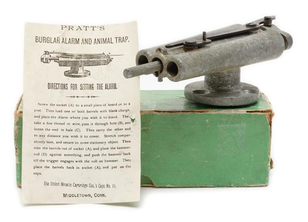 Pratt's Burglar Alarm and Animal Trap