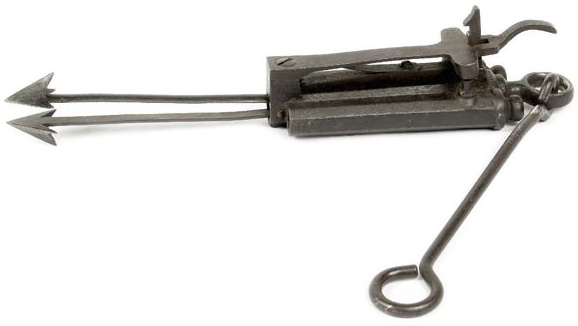 Double-Barrel F. Reuthe Trap Gun