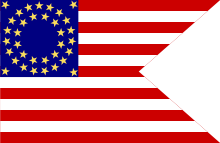 Stars and Stripes Guidon