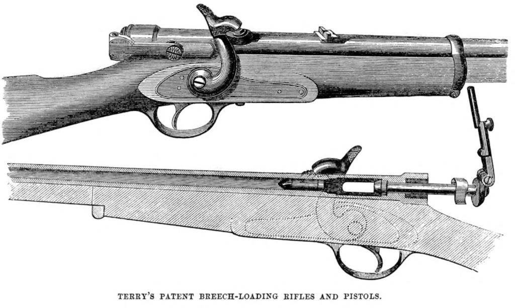 Diagram of the Terry Patent