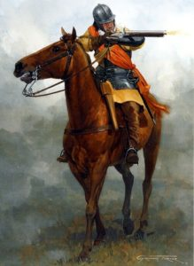 Cavalryman with Holster Pistol