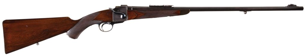 "Westley Richards Model 1881 ""Take-Down"" Rifle"